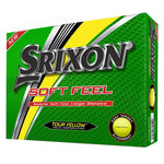 Srixon Soft Feel Golf Balls 2019 Golf Stuff - Save on New and Pre-Owned Golf Equipment Box/12 Yellow