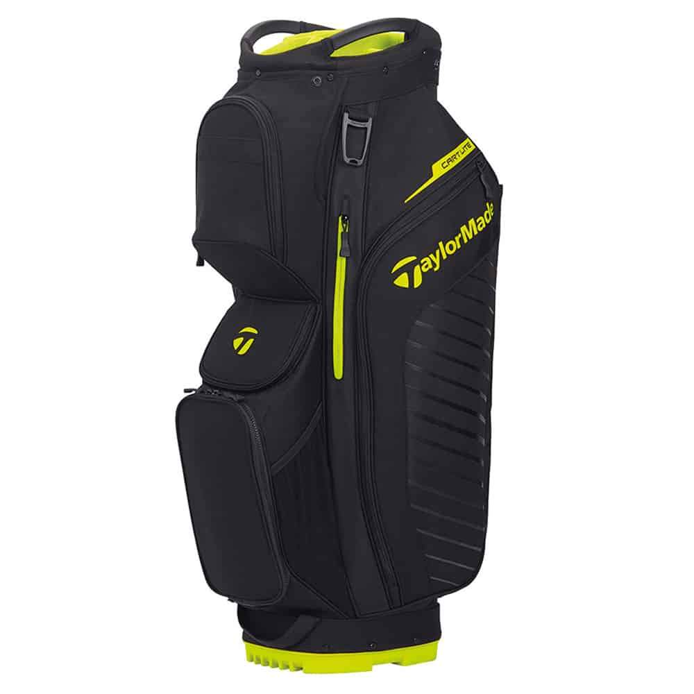 TaylorMade TM20 Cart Lite Bag Golf Stuff - Low Prices - Fast Shipping - Custom Clubs Black/Neon Lime