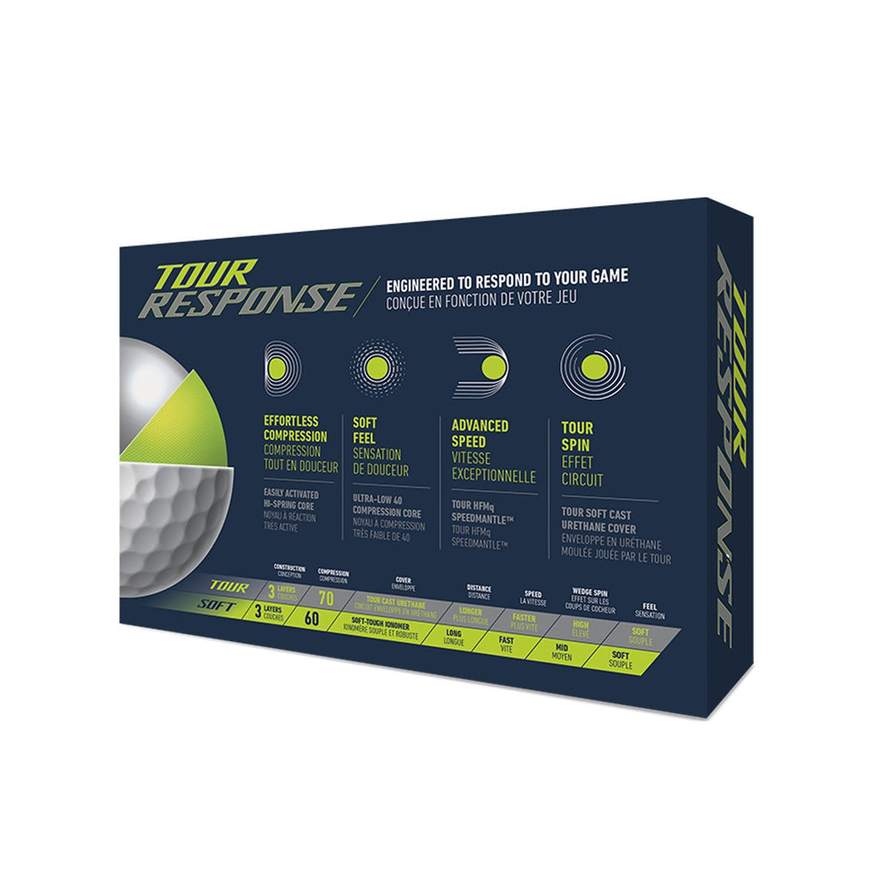 TaylorMade Tour Response Golf Balls Golf Stuff - Low Prices - Fast Shipping - Custom Clubs