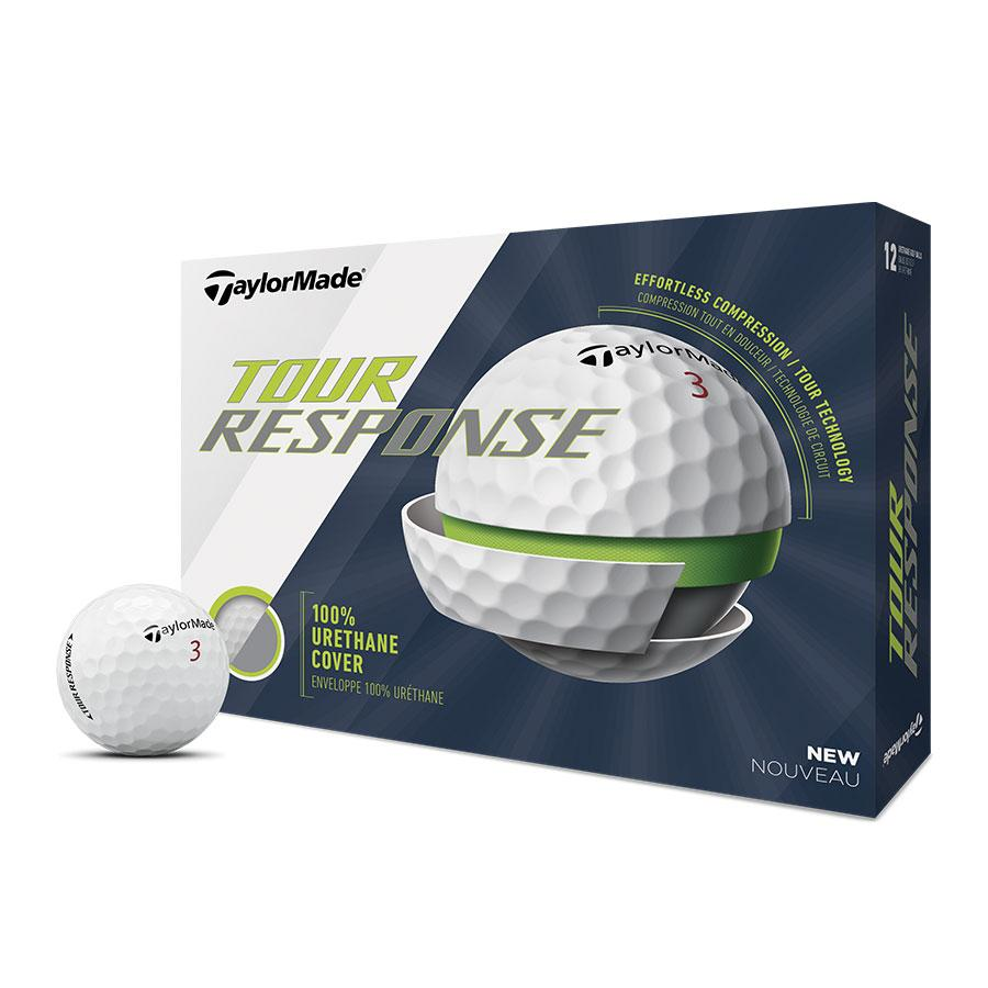 TaylorMade Tour Response Golf Balls Golf Stuff - Low Prices - Fast Shipping - Custom Clubs White Box/12