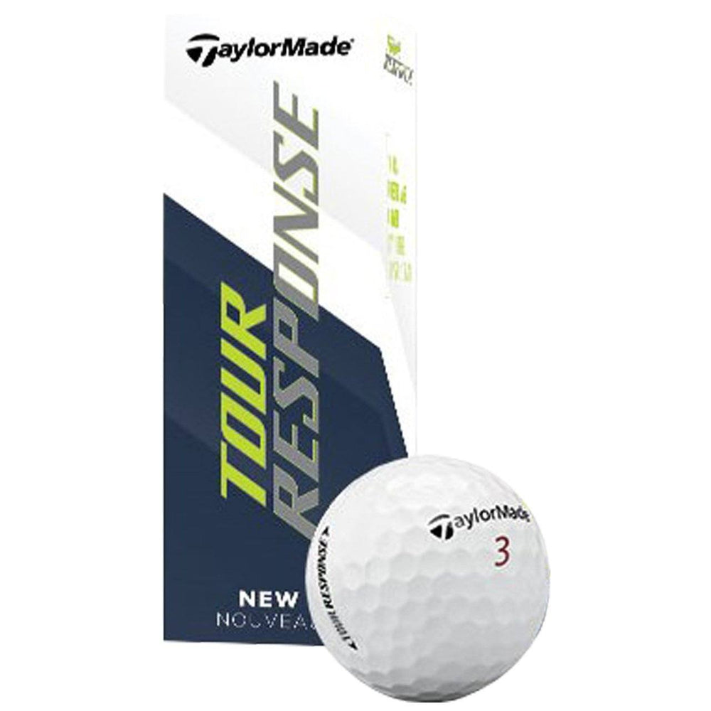 TaylorMade Tour Response Golf Balls Golf Stuff - Low Prices - Fast Shipping - Custom Clubs White Sleeve/3