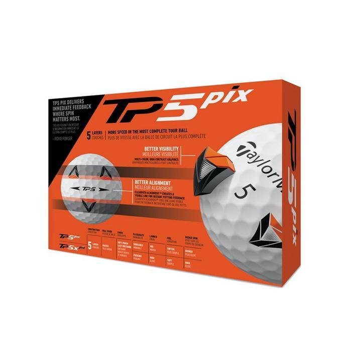 TaylorMade TP5 pix Golf Balls Golf Stuff - Low Prices - Fast Shipping - Custom Clubs