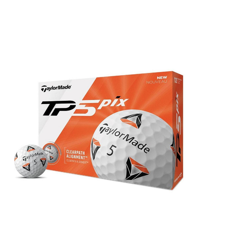 TaylorMade TP5 pix Golf Balls Golf Stuff - Low Prices - Fast Shipping - Custom Clubs Box/12