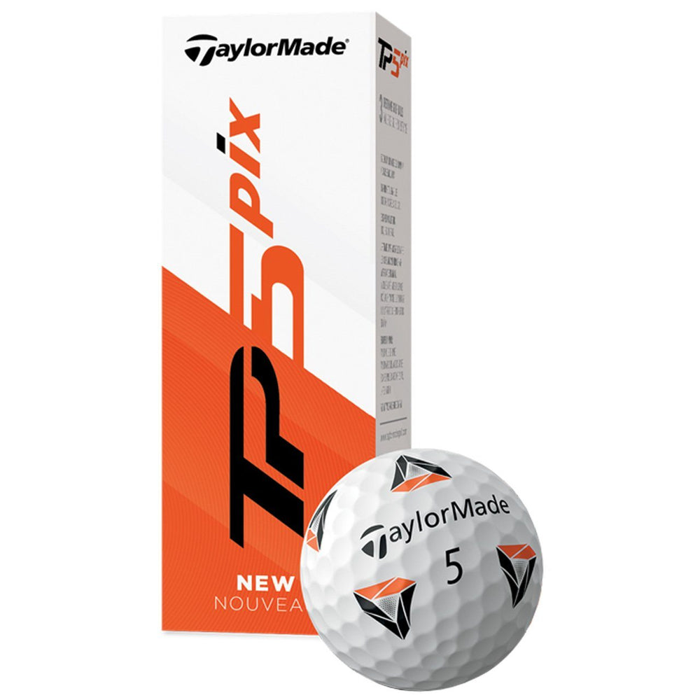 TaylorMade TP5 pix Golf Balls Golf Stuff - Low Prices - Fast Shipping - Custom Clubs Sleeve/3