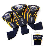 Team Golf NHL Set of 3 Head Covers Accesories Golf Trends Buffalo Sabres