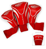 Team Golf NHL Set of 3 Head Covers Accesories Golf Trends Detroit Red Wings