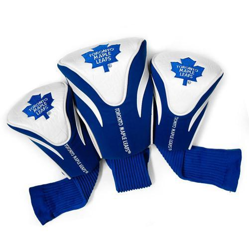 Team Golf NHL Set of 3 Head Covers Accesories Golf Trends Toronto Maple Leafs