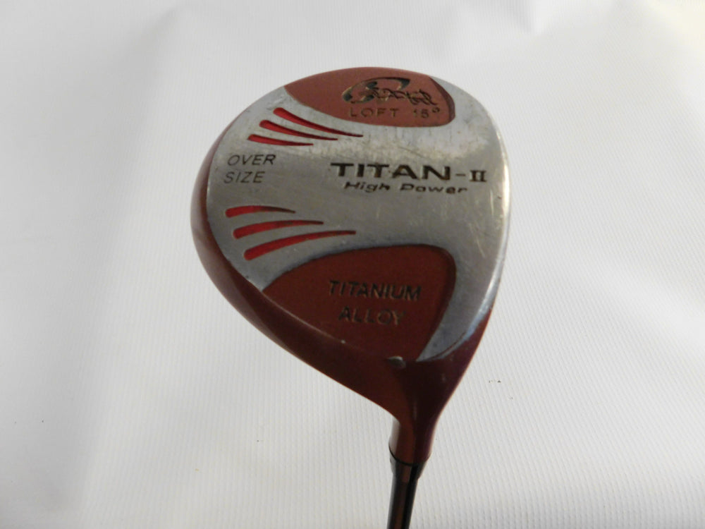 Titan II High Power 15° #3W Graphite Stiff Mens Right Golf Stuff - Save on New and Pre-Owned Golf Equipment