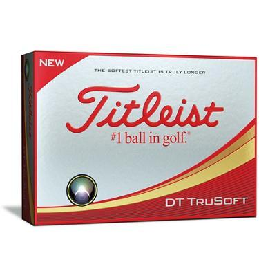 Titleist DT Trusoft Golf Balls Golf Stuff - Save on New and Pre-Owned Golf Equipment Box/12 White