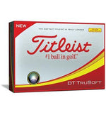 Titleist DT Trusoft Golf Balls Golf Stuff - Save on New and Pre-Owned Golf Equipment Box/12 Yellow