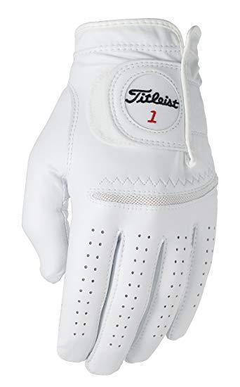 Titleist Perma-Soft Leather Golf Glove 2019 Golf Stuff - Save on New and Pre-Owned Golf Equipment Left Medium