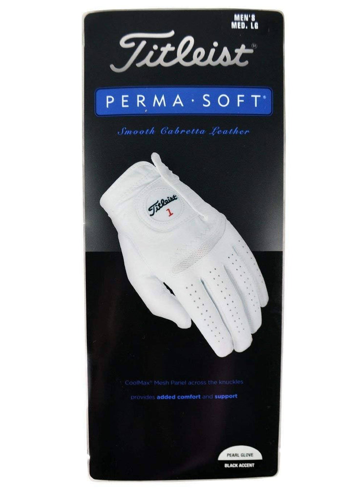 Titleist Perma Soft Womens Glove Right Hand (for left handed player) Golf Stuff - Save on New and Pre-Owned Golf Equipment Small