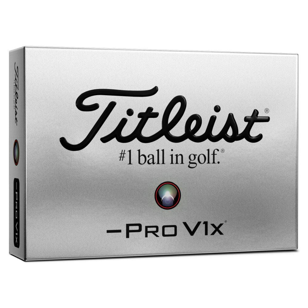 Titleist Pro V1x Left Dash Golf Balls
