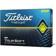 Titleist Tour Soft Golf Balls '20 Golf Stuff - Low Prices - Fast Shipping - Custom Clubs Box/12 Yellow