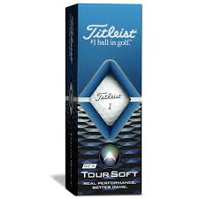 Titleist Tour Soft Golf Balls '20 Golf Stuff - Low Prices - Fast Shipping - Custom Clubs Slv/3 White