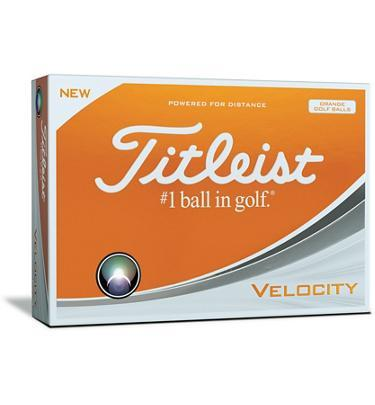 Titleist Velocity Golf Balls 2018 Golf Stuff - Save on New and Pre-Owned Golf Equipment Box/12 Orange