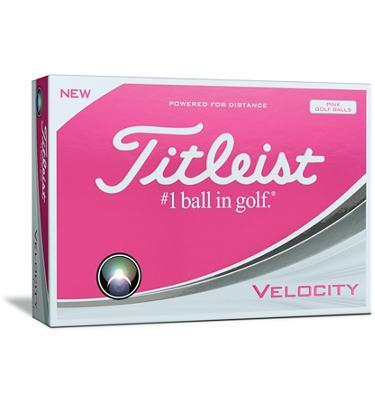 Titleist Velocity Golf Balls 2018 Golf Stuff - Save on New and Pre-Owned Golf Equipment Box/12 Pink