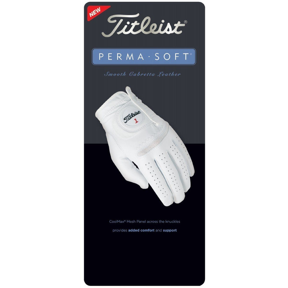 Titleist Womens Perma Soft Golf Glove Golf Stuff - Save on New and Pre-Owned Golf Equipment Small