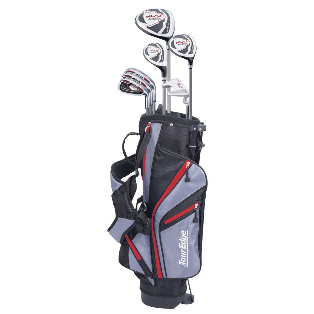 Tour Edge HL-J Junior Set/Bag Package Red 9-12Yr