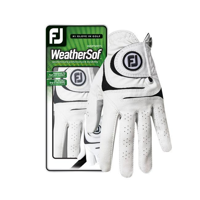 WeatherSof Women '18 Gloves Golf Stuff - Save on New and Pre-Owned Golf Equipment Left Medium White