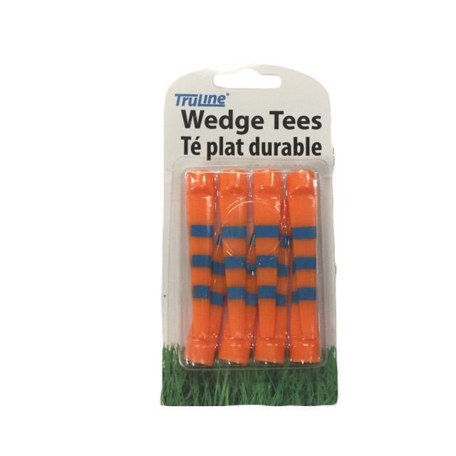 Wedge Tee 8pk Golf Tees TeeMate Orange