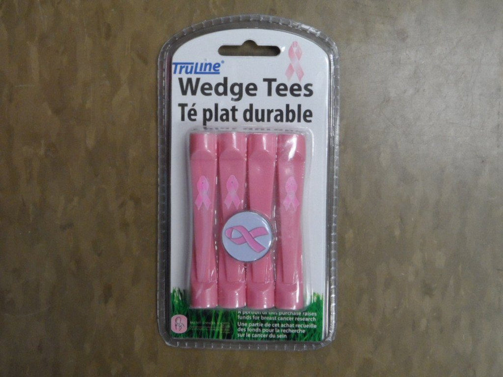 Wedge Tee 8pk Golf Tees TeeMate Pink