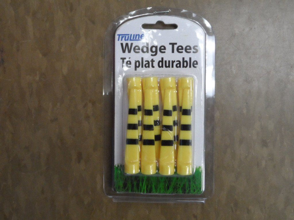 Wedge Tee 8pk Golf Tees TeeMate Yellow