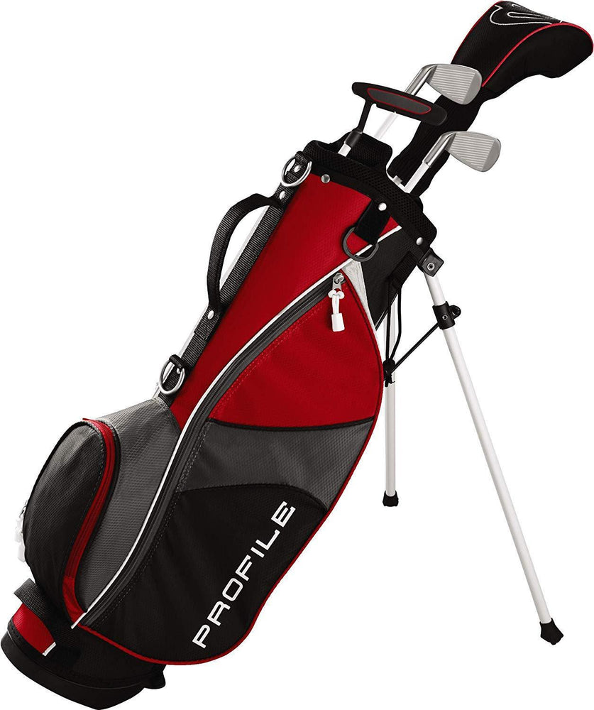 Wilson Profile JGI Junior Package Small Red 3-5Yr
