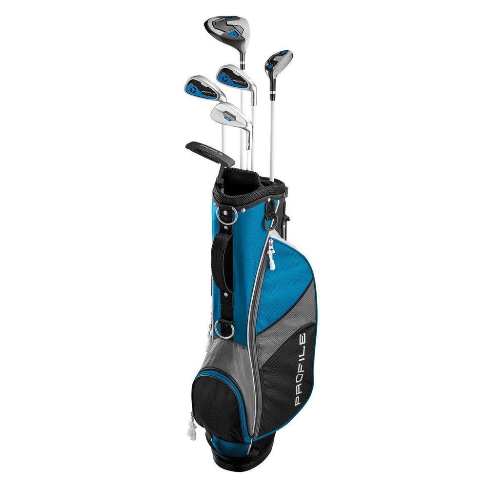 Wilson Profile Junior JGI Blue Complete Club Set (11-14Yr)