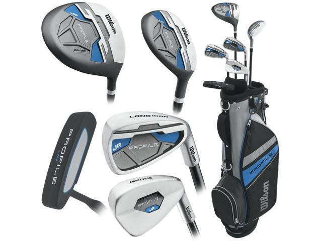 Wilson Profile Junior JGI Blue Complete Club Set (11-14Yr) Golf Stuff - Save on New and Pre-Owned Golf Equipment Right