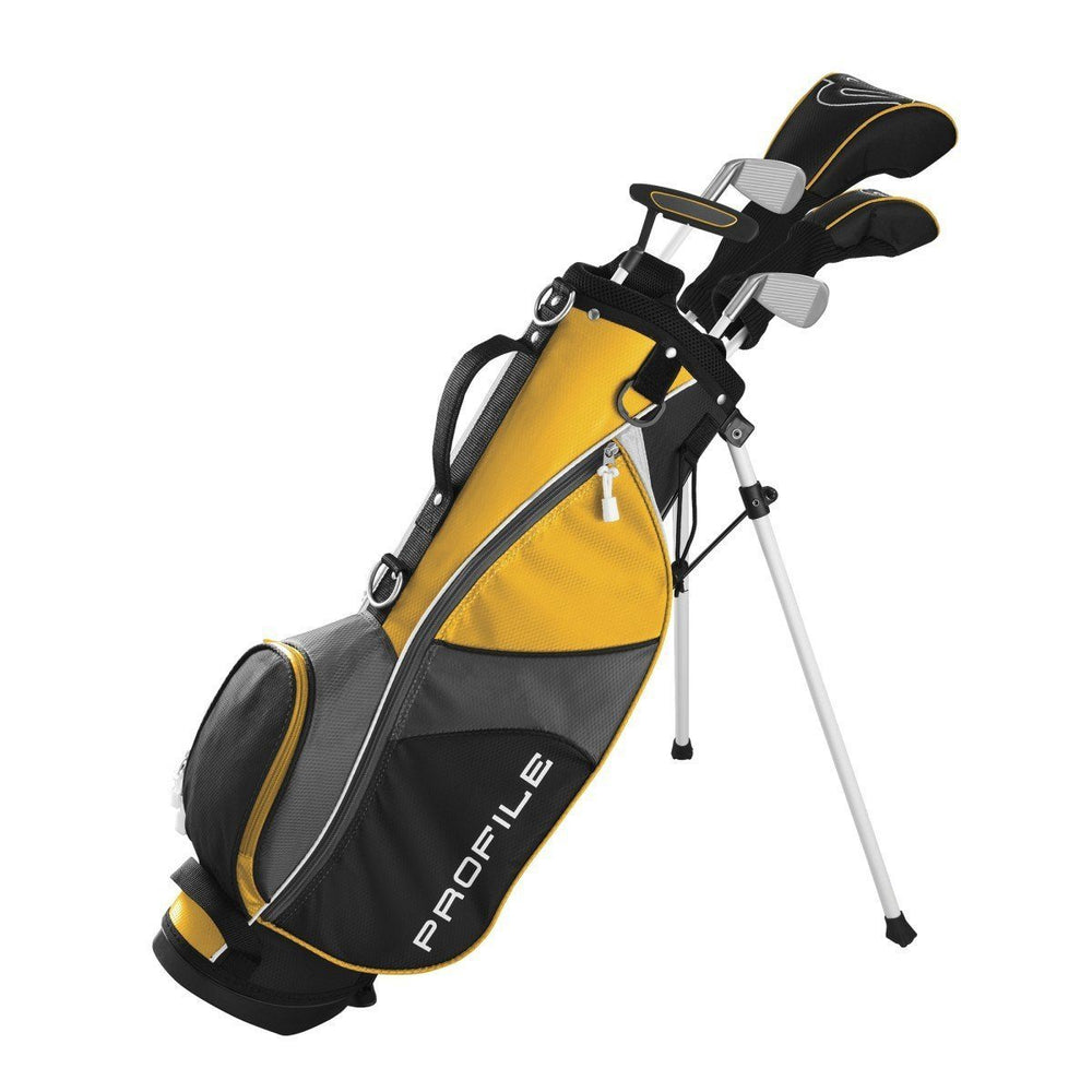 Wilson Profile Junior JGI Yellow Complete Club Set (8-11Yr)