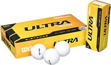 Wilson Ultra 500 Distance Golf Balls Wilson Box/15