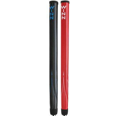"Winn Excel 15"" Pistol CounterBalance Putter Grip Golf Stuff - Save on New and Pre-Owned Golf Equipment Black/Blue"