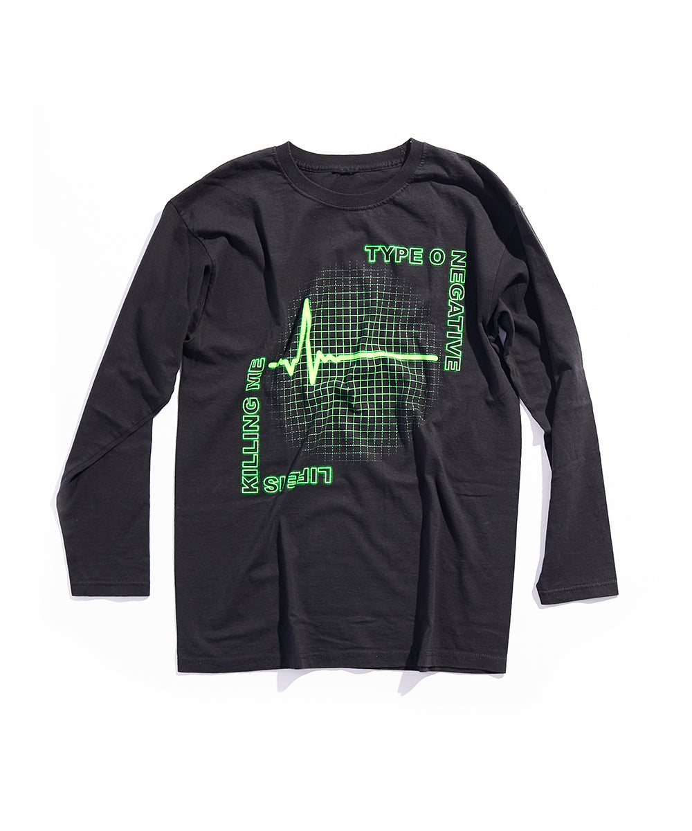 TYPE O NEGATIVE BAND LIFE IS KILLING ME LONG SLEEVE T-SHIRT