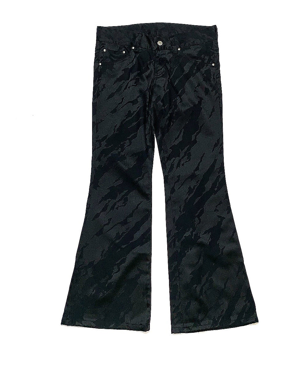 Total pattern Flare Pants