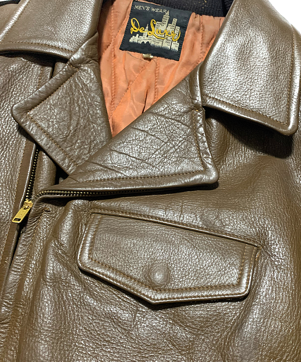 1950's Riders Leather Jacket