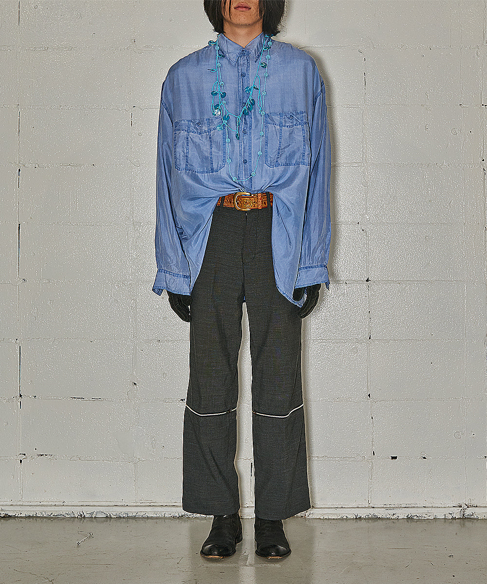 1990's Design Silk Shirt