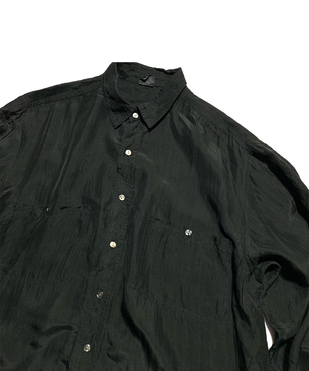 1990's Double Pocket Silk Shirt