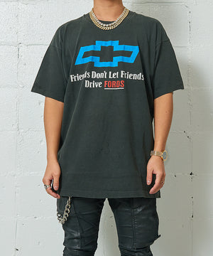 Chevrolet FRIENDS DON'T LET FRIENDS DRIVE FORDS Tee