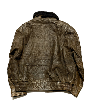 Emblem Boa Flight Jacket