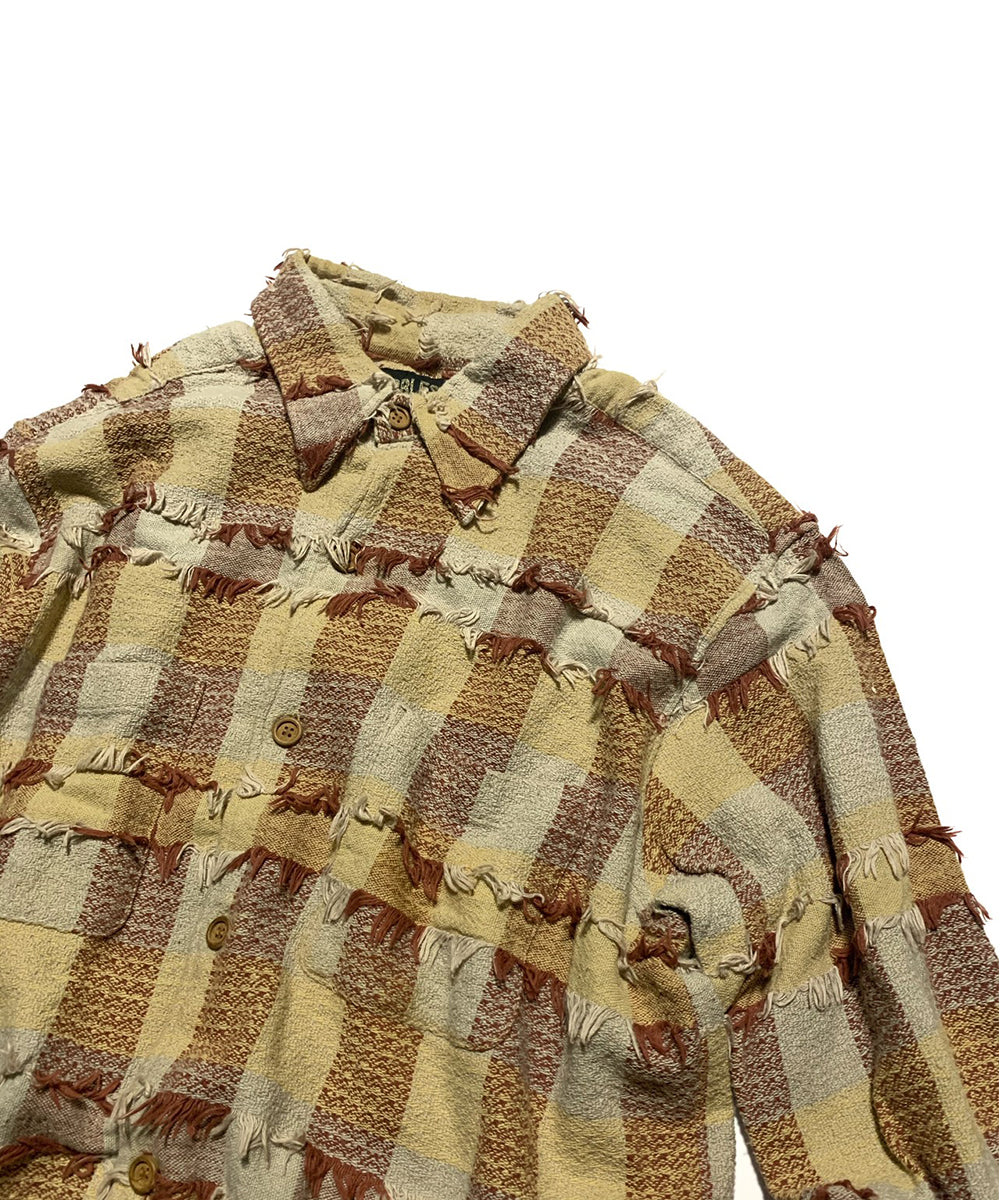 Ethnic Check Shirt