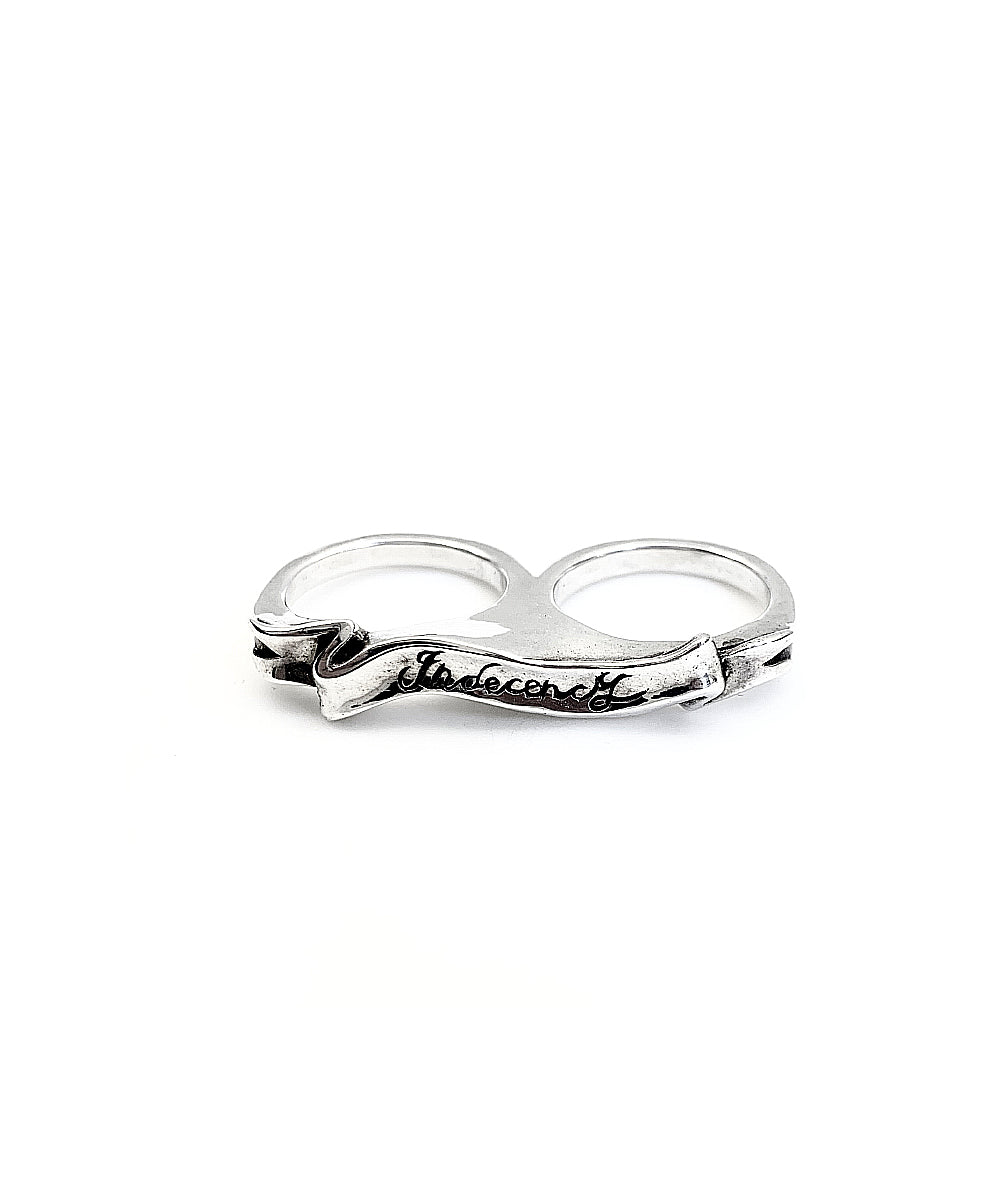 Indecency 2 finger Ring