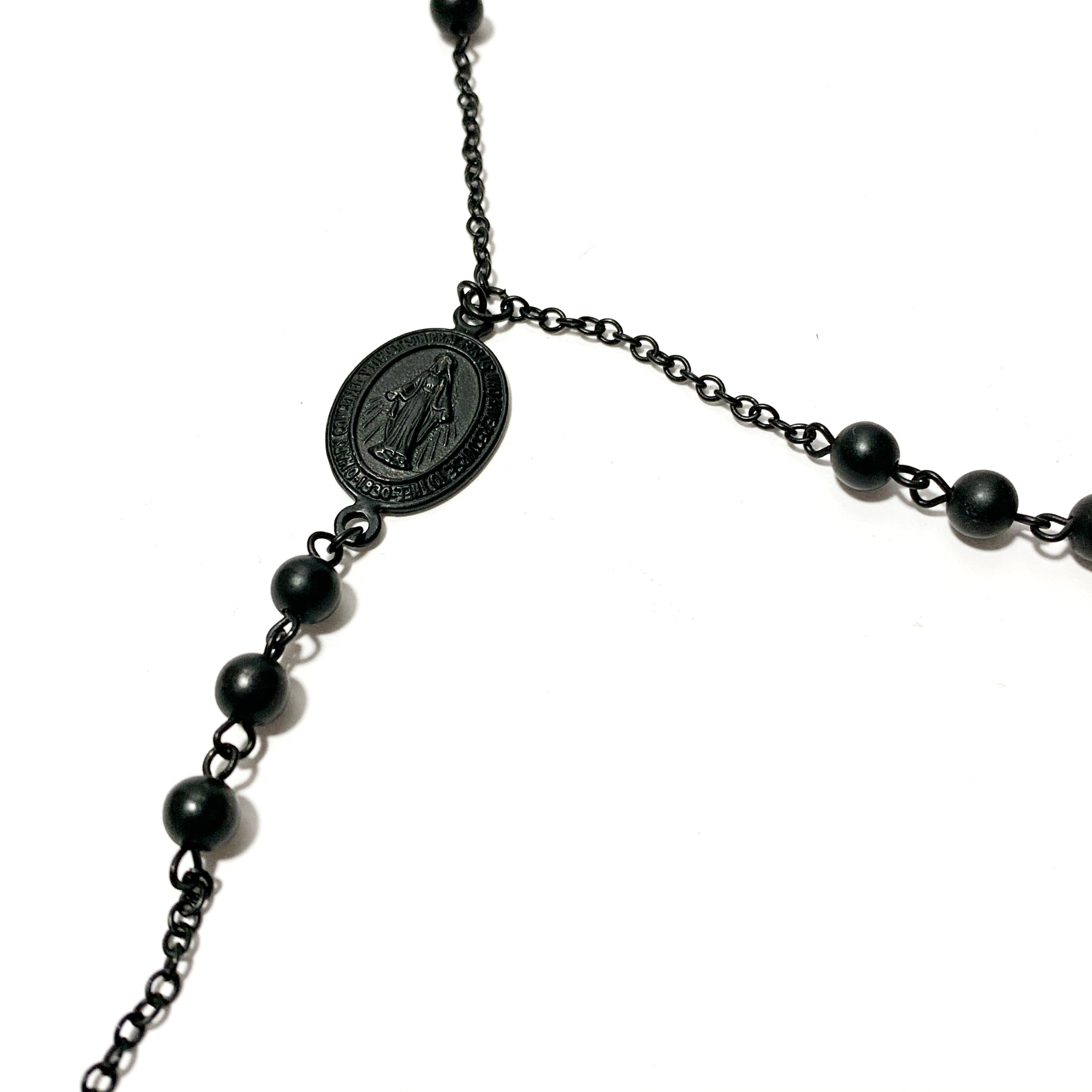 Matte Rosary necklace