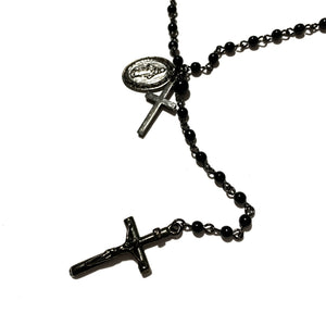 Double Rosary Necklace