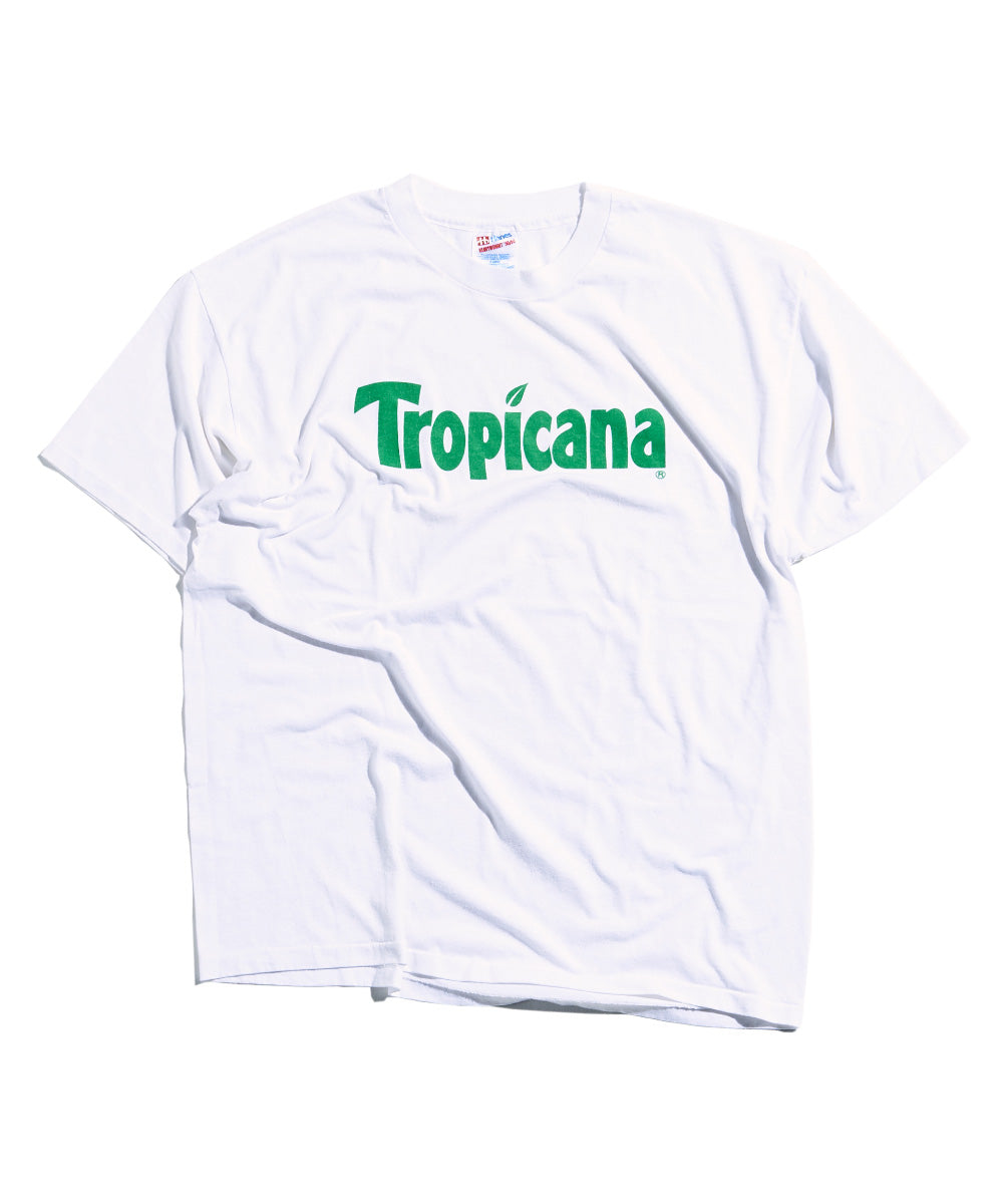 "Tropicana "" orange juice double sided promo "" T-Shirt"