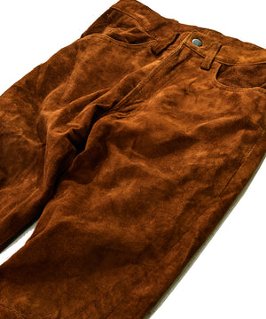 Suede Bellbottoms