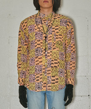 Total Pattern Patchwork Shirt