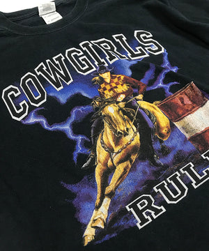 COWGIRLS RULE TSHIRT