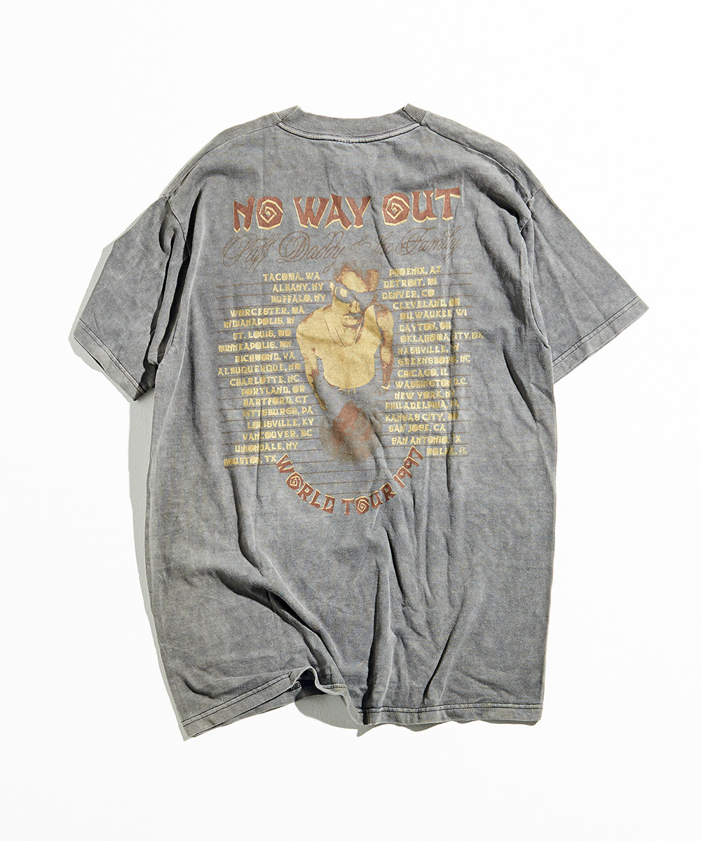 "90s Puff Daddy "" Diddy Biggie No Way Out Tour ""T-Shirt"