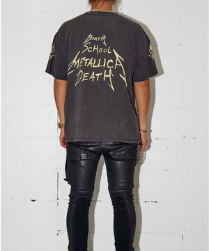 BIRTH SCHOOL DEATH METALLICA T-shirt
